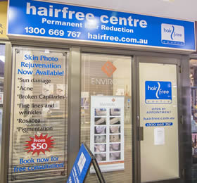 Hairfree Centre Duncraig
